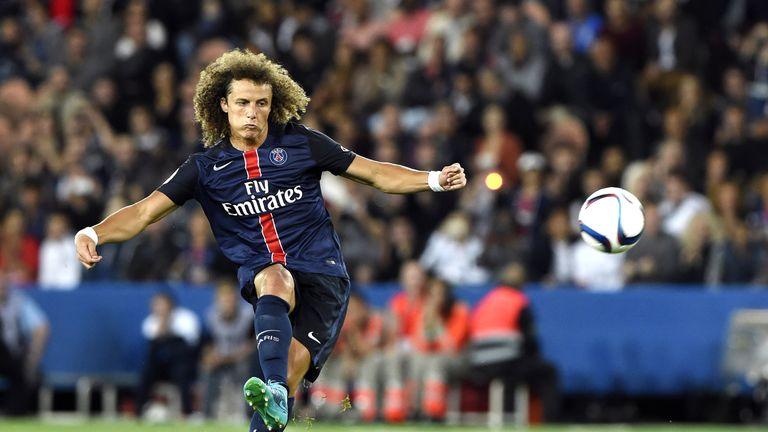 Luiz won back-to-back domestic trebles with PSG
