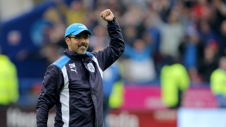 David Wagner replaced Chris Powell at Huddersfield in November