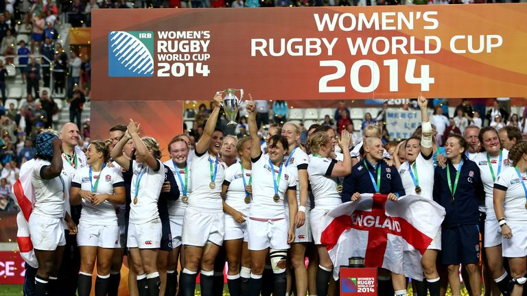 England won their second Women's Rugby World Cup in 2014