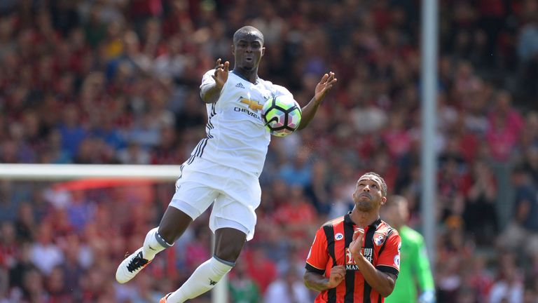 Eric Bailly has been away with the Ivory Coast