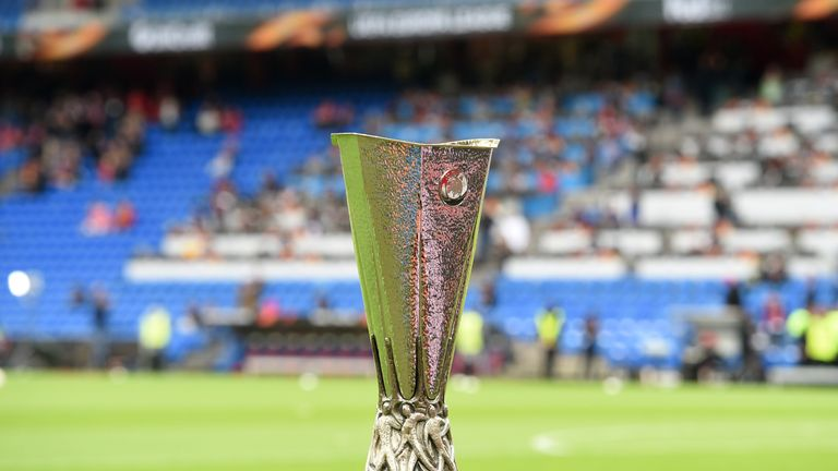The draw for the group phase of this season's Europa League takes place in Monaco on Friday at 12pm