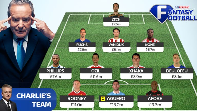 Charlie Nicholas names his Sky Sports Fantasy Football XI
