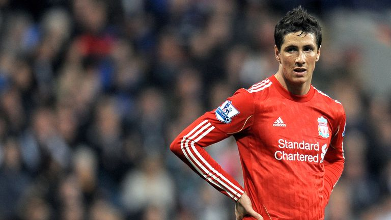 Fernando Torres left Liverpool in January 2011
