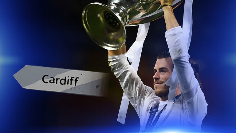 Gareth Bale could be lifting the Champions League trophy in Cardiff next year