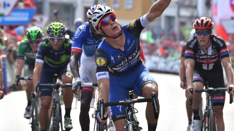 Gianni Meersman sprinted to his second win in four days