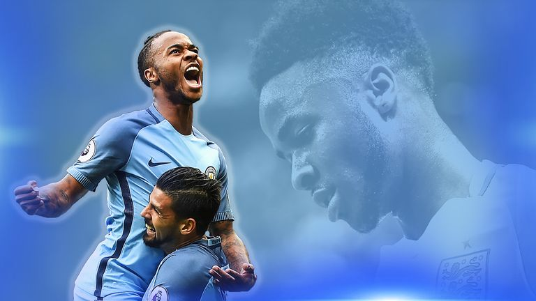 After a miserable summer Raheem Sterling is enjoying life at Man City
