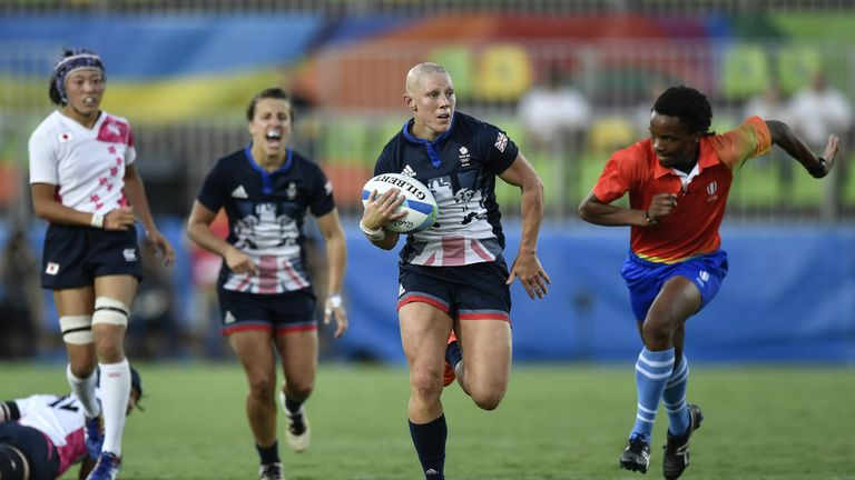 Fisher represented Great Britain at the 2016 Olympics in Rio, playing Sevens