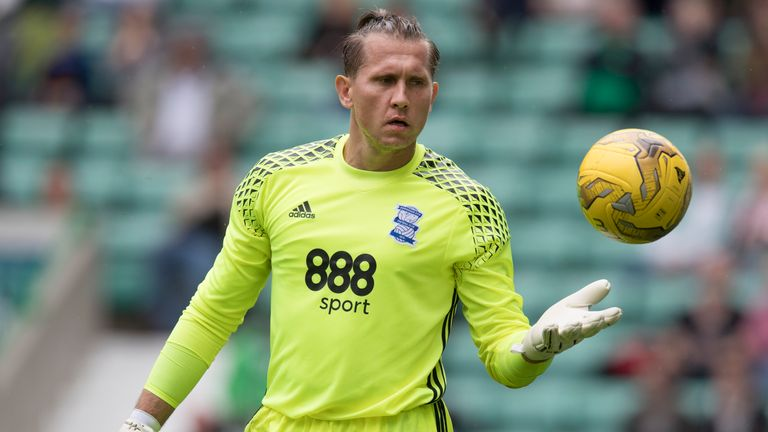 Tomasz Kuszczak hasn't made a first-team appearance for Birmingham since November 2017