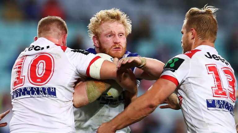 James Graham set the tone for a strong defensive performance