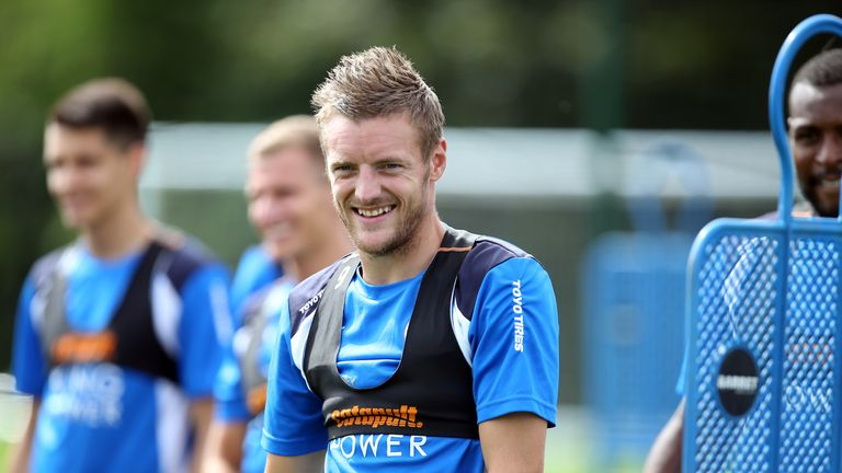 Ranieri reports that Jamie Vardy and company are in god shape ahead of the Community Shield