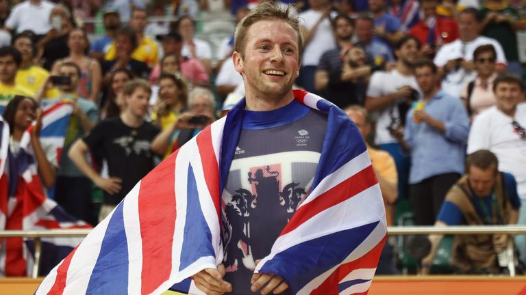 Jason Kenny won three gold medals at the Rio 2016 Olympic Games