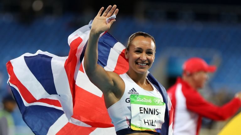 Jessica Ennis-Hill won the silver medal in Rio