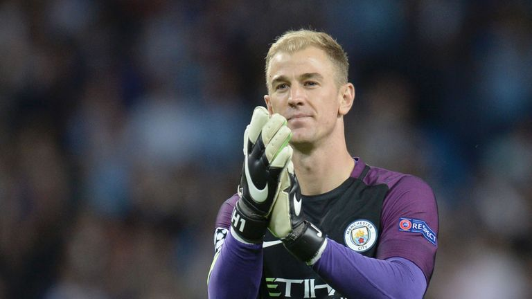 Joe Hart is tipped to leave Manchester City after Claudio Bravo's arrival
