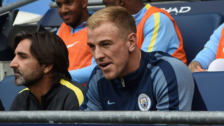Hart was benched for City's opening game of the season at Sunderland
