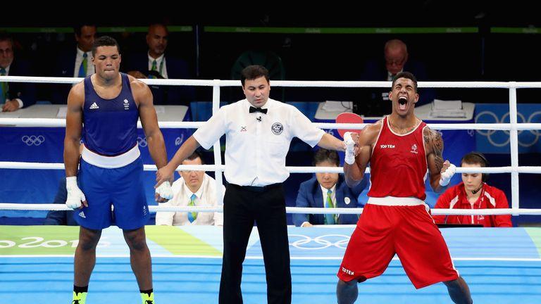 Yoka beat Britain's Joyce to win gold in 2016