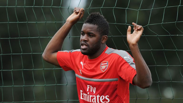 Joel Campbell joins Real Betis having made 40 appearances for Arsenal