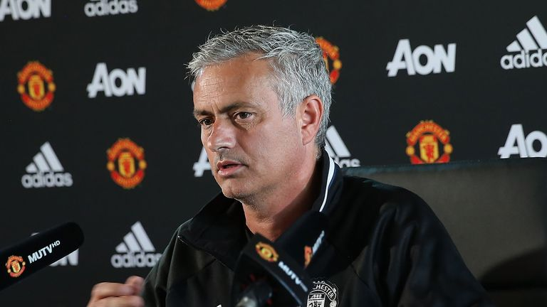 Jose Mourinho is back in the Premier League with Manchester United