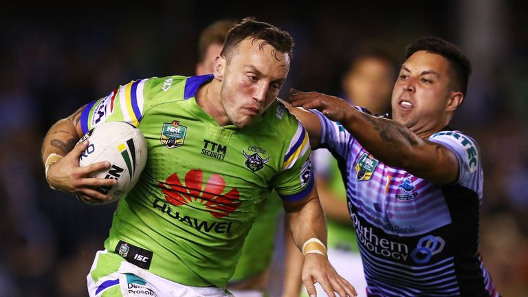 Josh Hodgson has made a big impact in the NRL