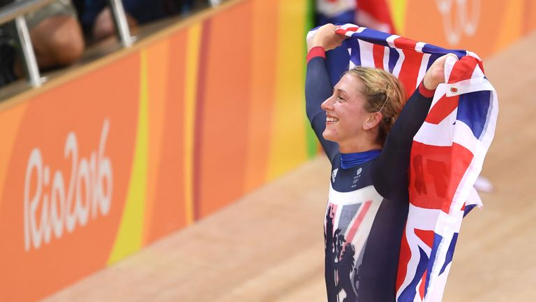 Laura Trott achieved a brilliant fourth gold medal as GB dominated in the velodrome...again