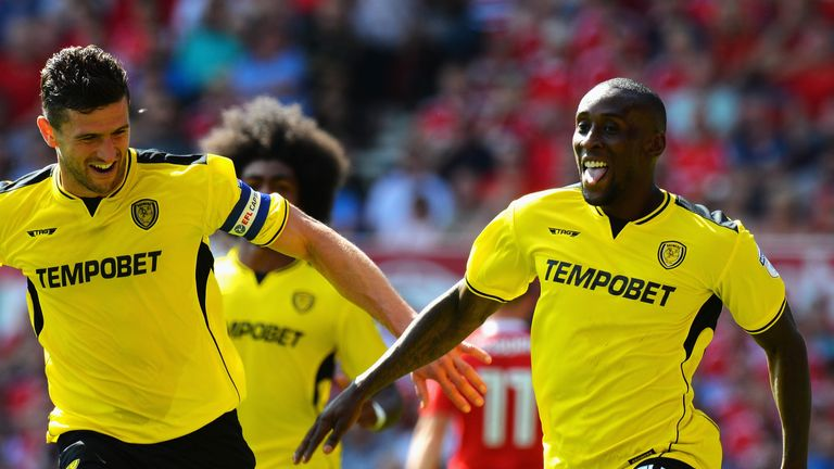 Burton's Championship game against Derby is live on Sky Sports Mix on August 26