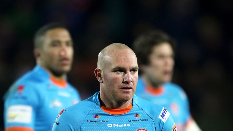Luke Walsh will miss St Helens' Super League derby with Wigan on Friday