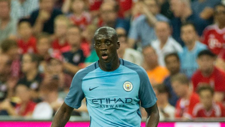 Guardiola sold Toure to City in 2010 and he has made more than 250 appearances for the club