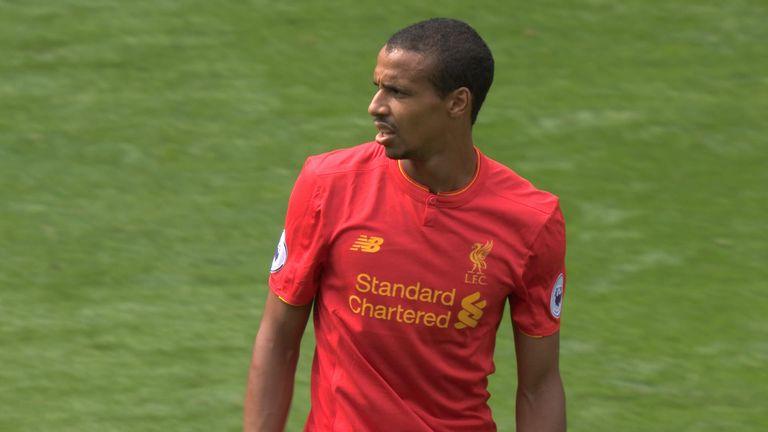 Joel Matip made his Premier League debut for Liverpool against Tottenham