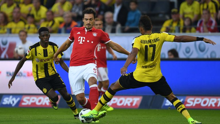 Hummels joined Bayern from Dortmund in the summer