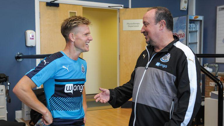 Rafa Benitez spent £12m to bring Matt Ritchie to Newcastle