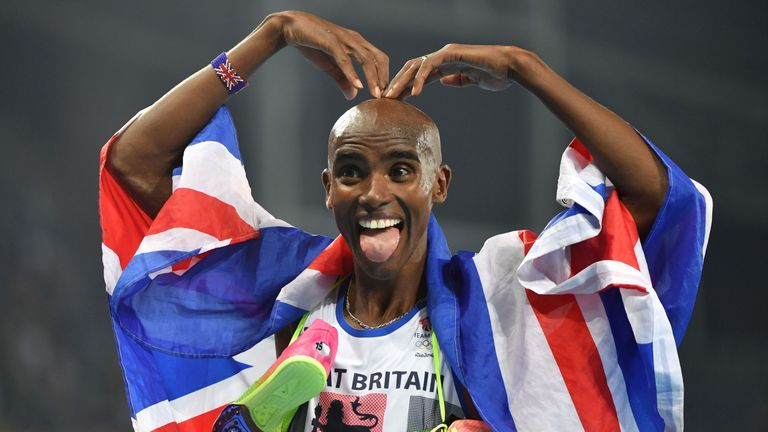 Farah has done the 'double double' - winning the 5,000m and 10,000m in London and Rio