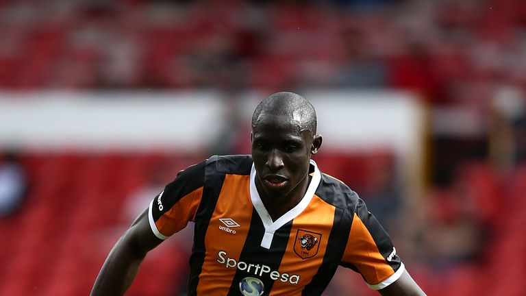 Mo Diame was in pre-season action for Hull last week