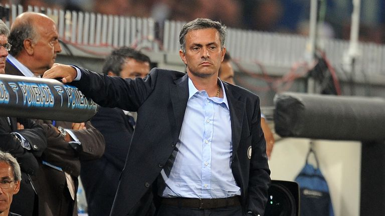 Mourinho was never beaten in home league games as Inter manager