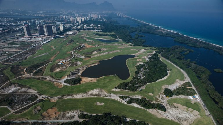 The Olympic Golf Course is a superb piece of design from Gil Hanse