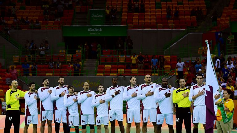 The Qatar handball squad for the Rio Olympics is a host of different nationalities