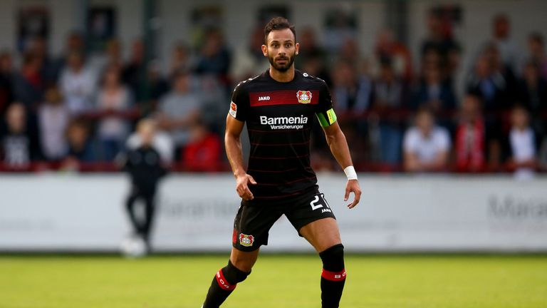 Bayer Leverkusen's Omer Toprak is a Turkey international with 23 caps