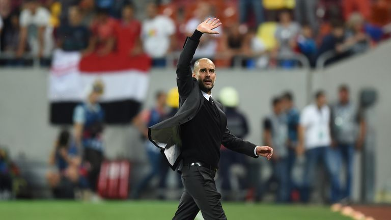 Guardiola's City are a strong title challenger, according to Mourinho