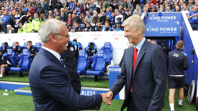 Claudio Ranieri and Arsene Wenger have both been given draws their Leicester and Arsenal sides will feel they can profit from