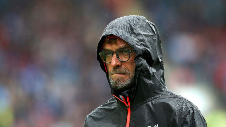 Jurgen Klopp prior to kcik-off at Turf Moor