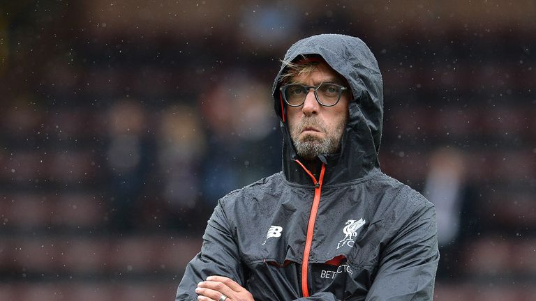 Jurgen Klopp won't make any rushed decisions in the transfer market because of Liverpool's loss to Burnley