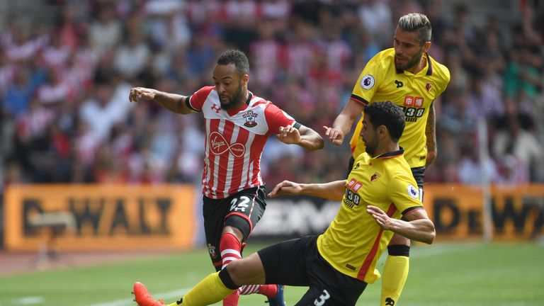 Nathan Redmond had a goal disallowed late on for Southampton