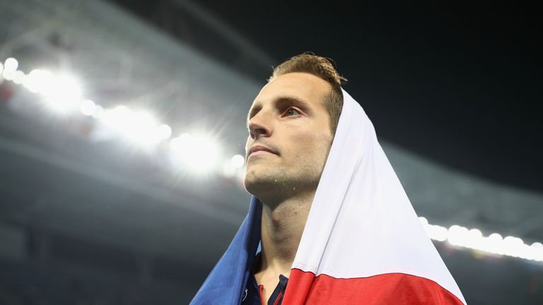 Renaud Lavillenie lamented the reaction from the crowd at the Olympic pole vault final