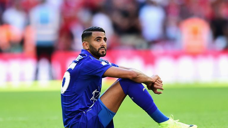 Riyad Mahrez is staying at Leicester, according to Ranieri