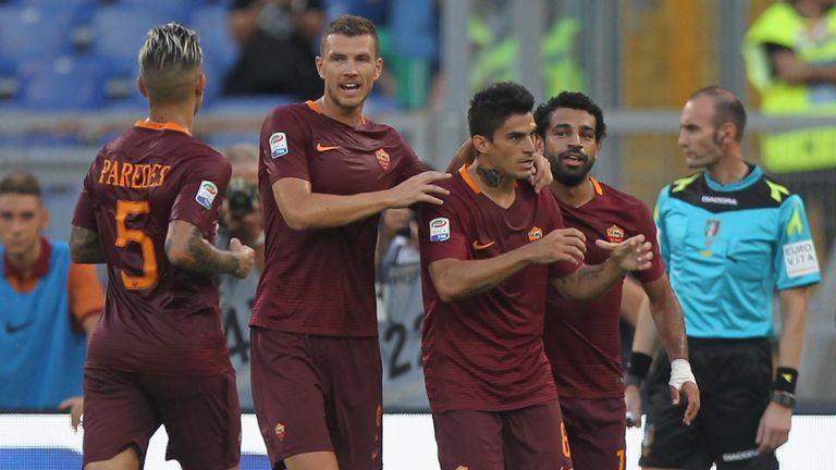 Diego Perotti scored twice in Roma's win over Udinese