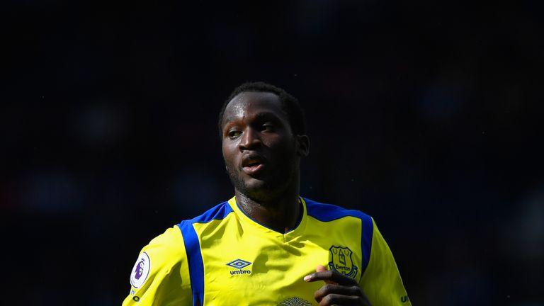 Romelu Lukaku is in line to start for Everton