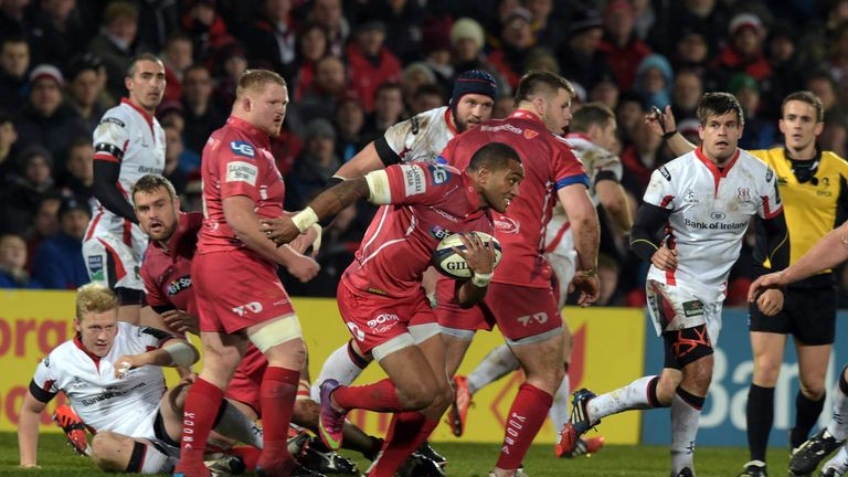 Michael Tagicakibau has made the switch from the Scarlets to Treviso