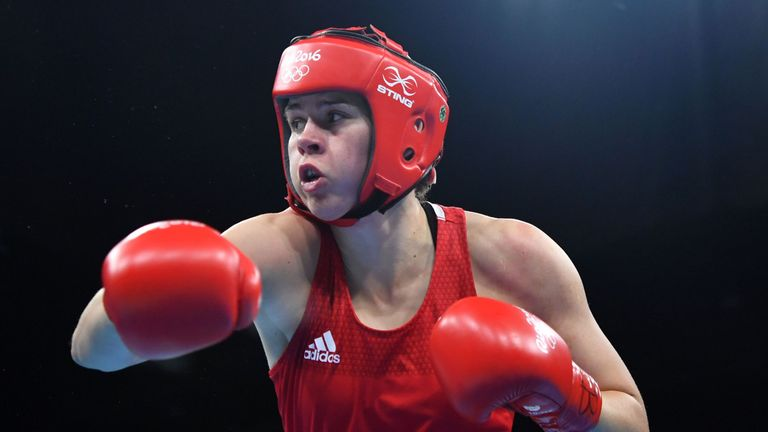 Savannah Marshall lost to a split decision in the quarter-finals
