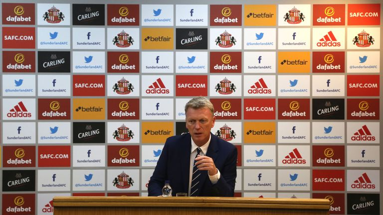 David Moyes said it is of vital importance they add to the current squad
