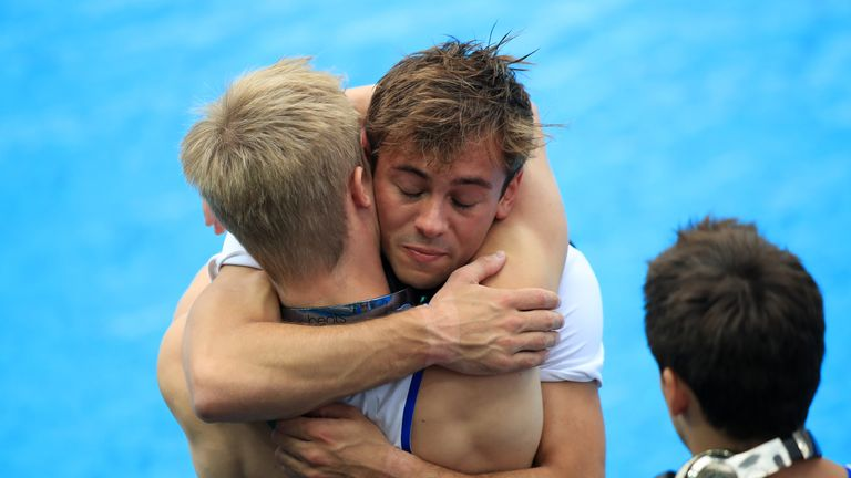 Daley was clearly upset after his early Rio exit