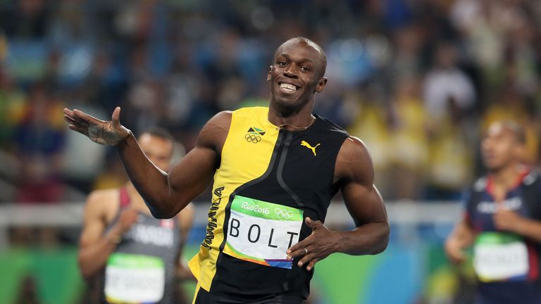 Bolt Delighted The Crowd In Rio