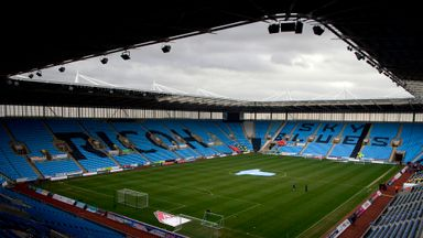 Coventry in final EFL threat over home